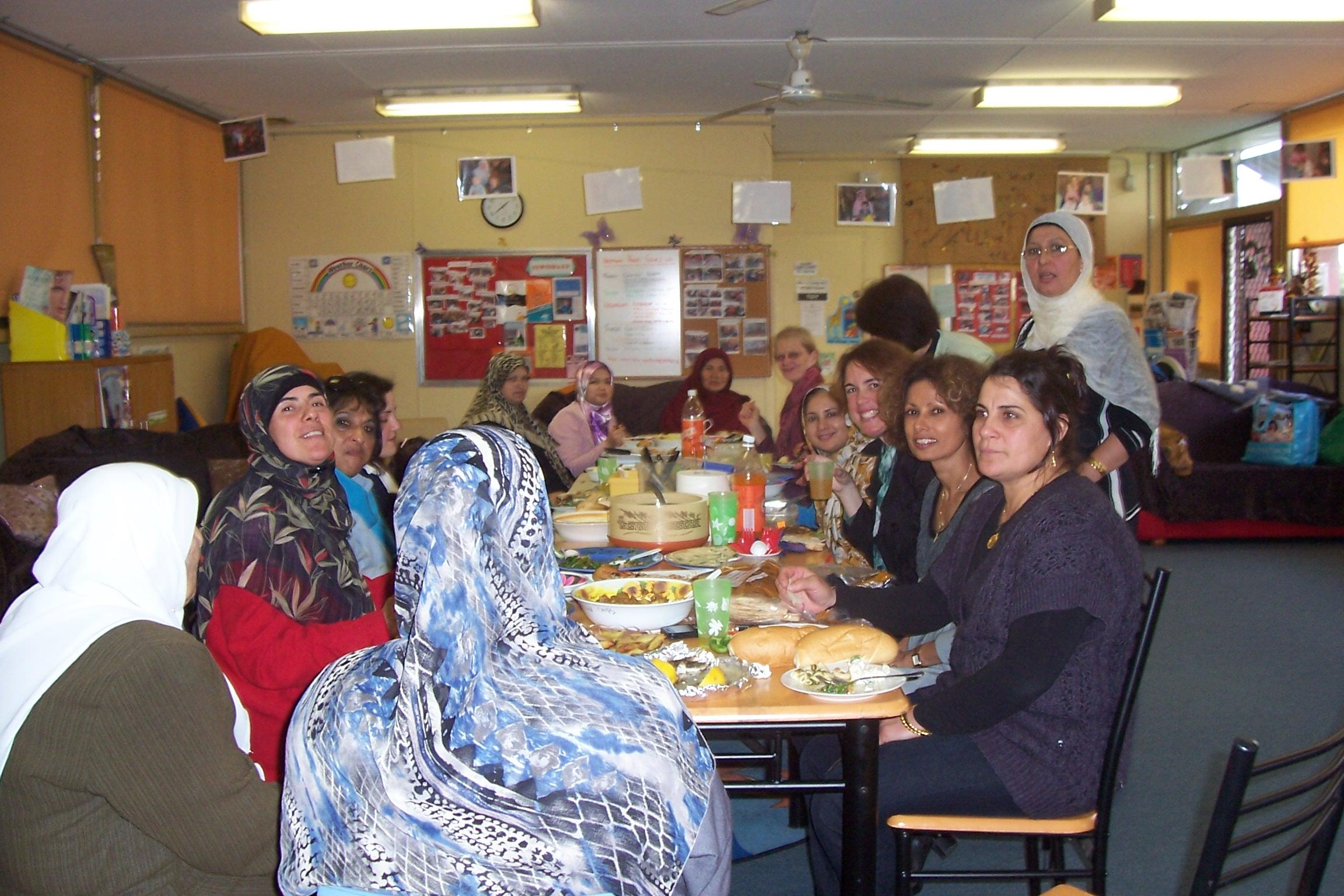 Cooking group 2011