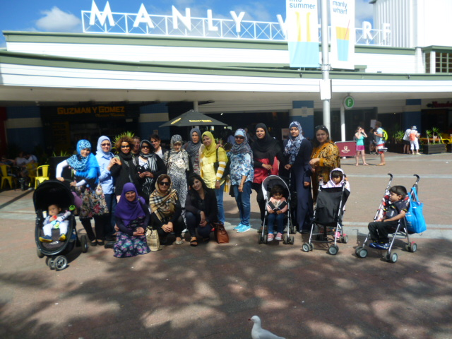 Excursion with parents to Manly in March 2016.